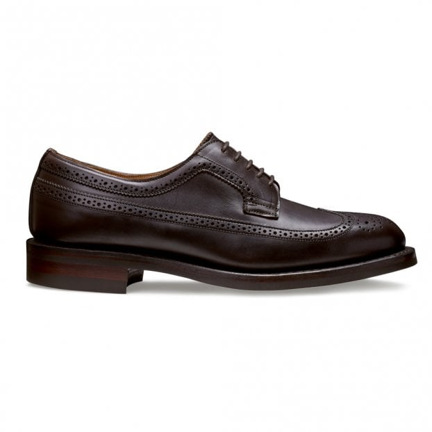 Cheaney Maude II Long Wing Brogue in Chicago Tan Chromexcel Leather