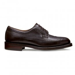 Maude II Long Wing Brogue in Chicago Tan Chromexcel Leather
