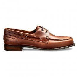 Maverick D Nautically Inspired Shoe in English Tan Chromexcel Leather