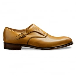 Moulton Monk Shoe in Original Chestnut Calf Leather