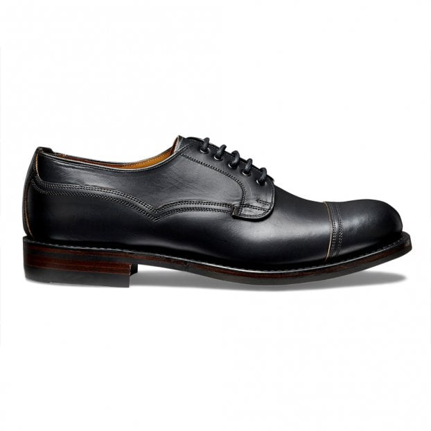 Cheaney Murton R Derby in Black Chromexcel Leather