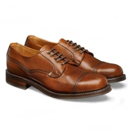 Murton R Derby in English Tan Chromexcel Leather