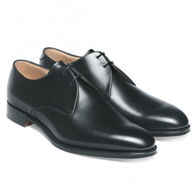 Cheaney Old Classic Derby in Black Calf Leather