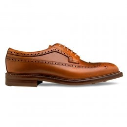 Oliver III R Longwing Brogue in English Tan Chromexcel Leather