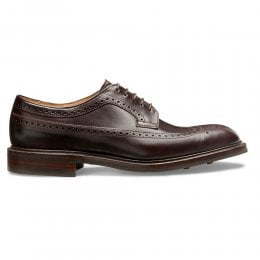 Oliver II R Longwing Brogue in Burgundy Coaching Calf