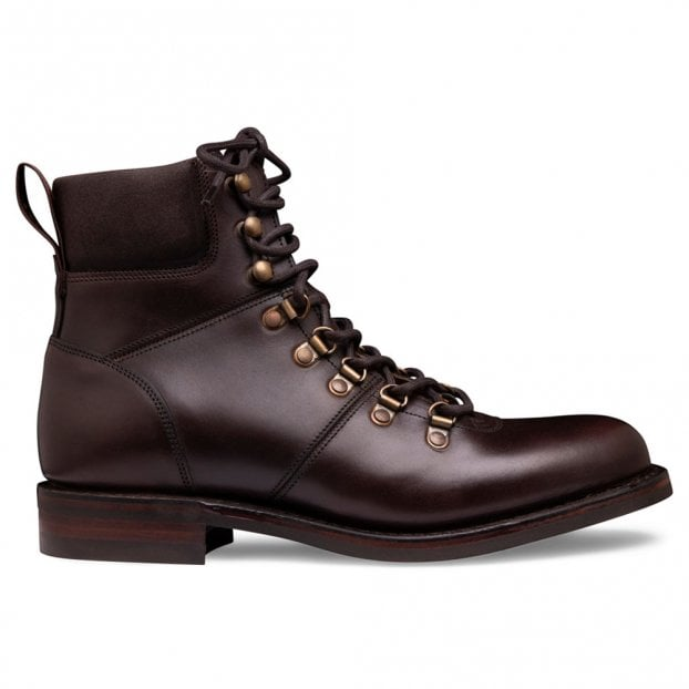 Cheaney Penny R Hiker Boot in Chicago Tan Chromexcel Leather