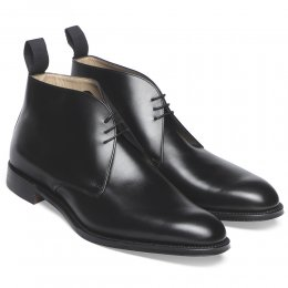 Shadwell Chukka Boot in Black Calf Leather
