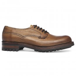 Stour C Derby Veldtschoen in Almond Grain Leather