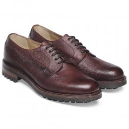 Stour C Derby Veldtschoen in Burgundy Grain Leather