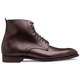 Sutton Derby Boot in Burnished Mocha Calf Leather
