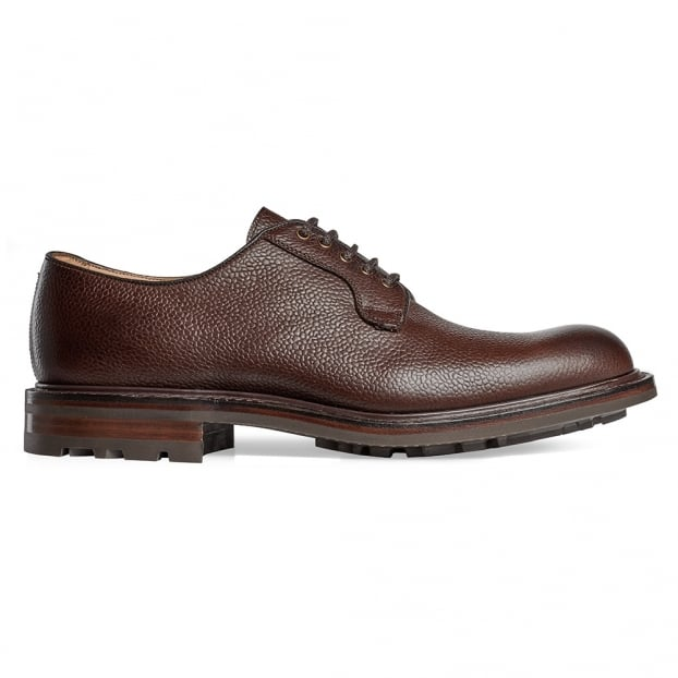 Cheaney Teign II B Derby in Walnut Grain Leather