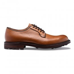 Teign II Derby in Almond Grain Leather