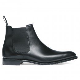 Threadneedle Chelsea Boot in Black Calf Leather