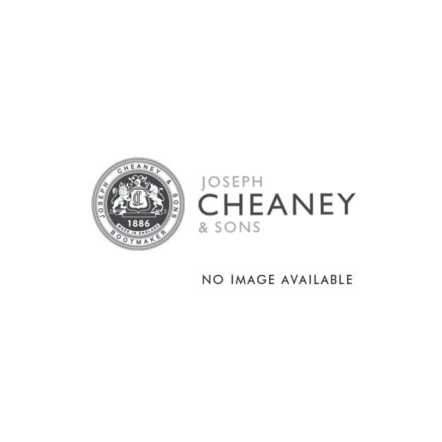 cheaney tweed c black grain wingcap brogue boot made