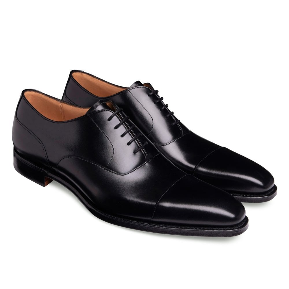 Cheaney Warwick | Black Capped Oxford