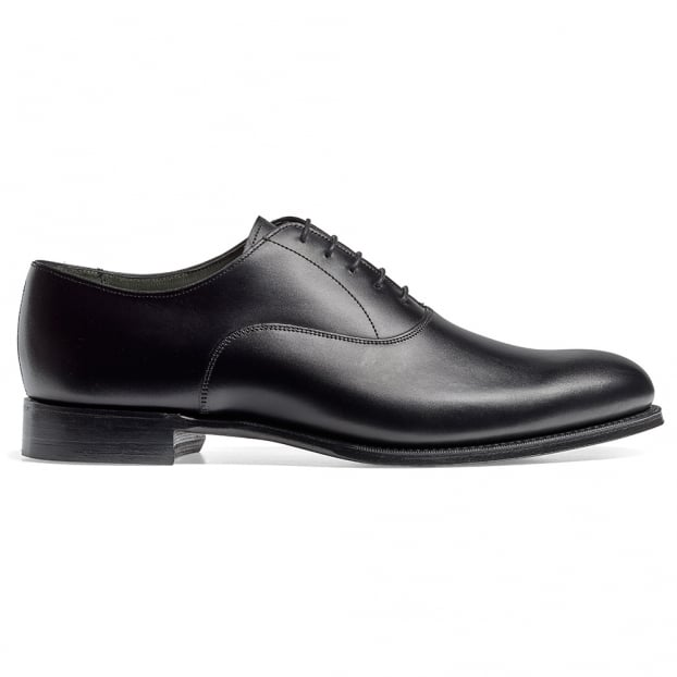 Cheaney Welland Oxford in Black Calf Leather