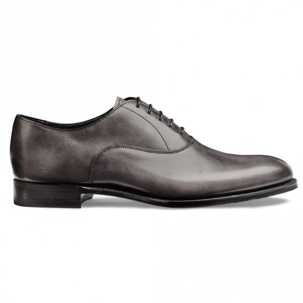 Cheaney Welland Oxford in Charcoal Grey Calf Leather