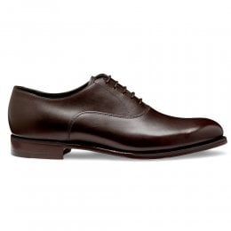 Welland Oxford in Mocha Calf Leather