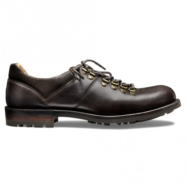 Cheaney Whernside B Hiker Shoe in Chicago Tan / Brown Split Coupe