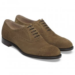 Wilfred Oxford Semi Brogue in Maracca Suede