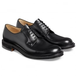 Wye II Derby in Black Calf Leather