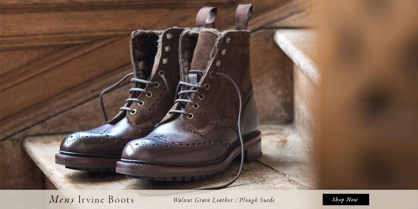 Mens Irvine Boots