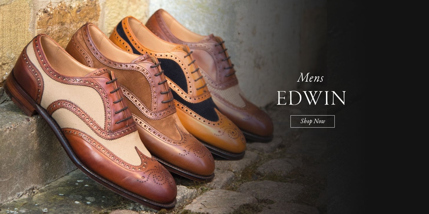 Mens Edwin Two Tone Brogues - Shop Now