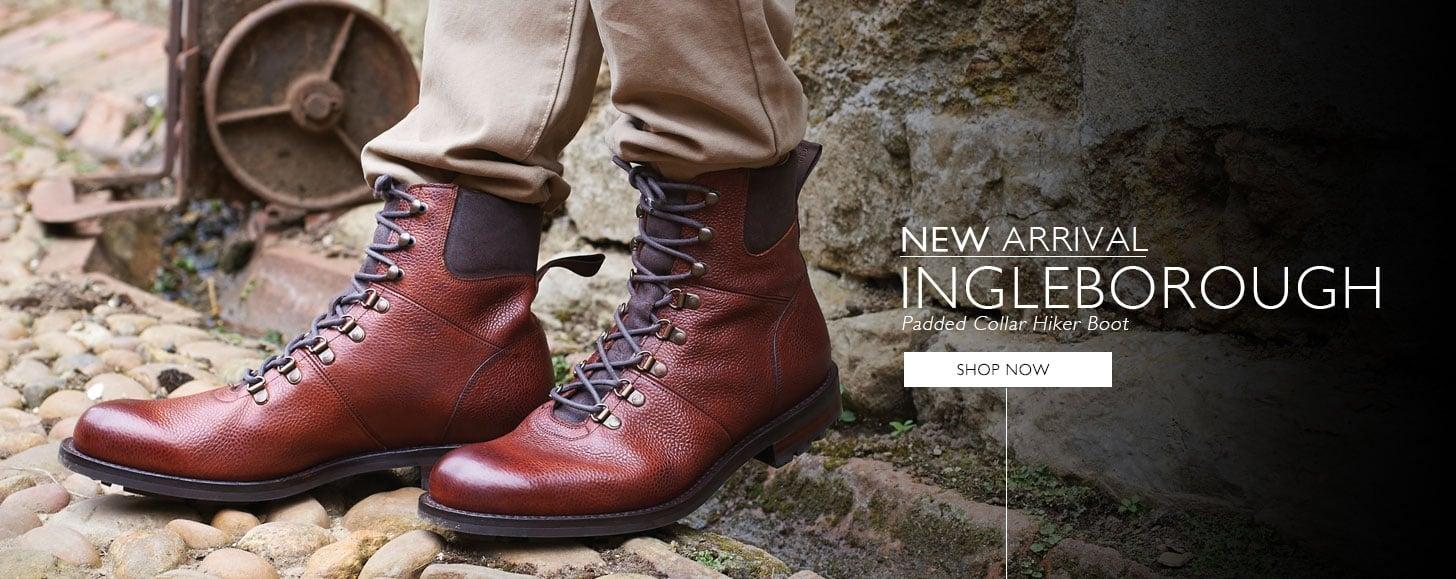 New Arrival - Ingleborough Padded Collar Hiker Boot