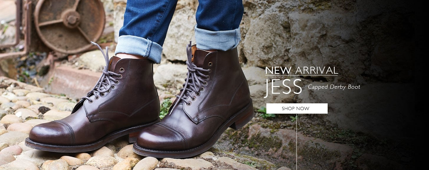 New Arrival - Jess Capped Derby Boot