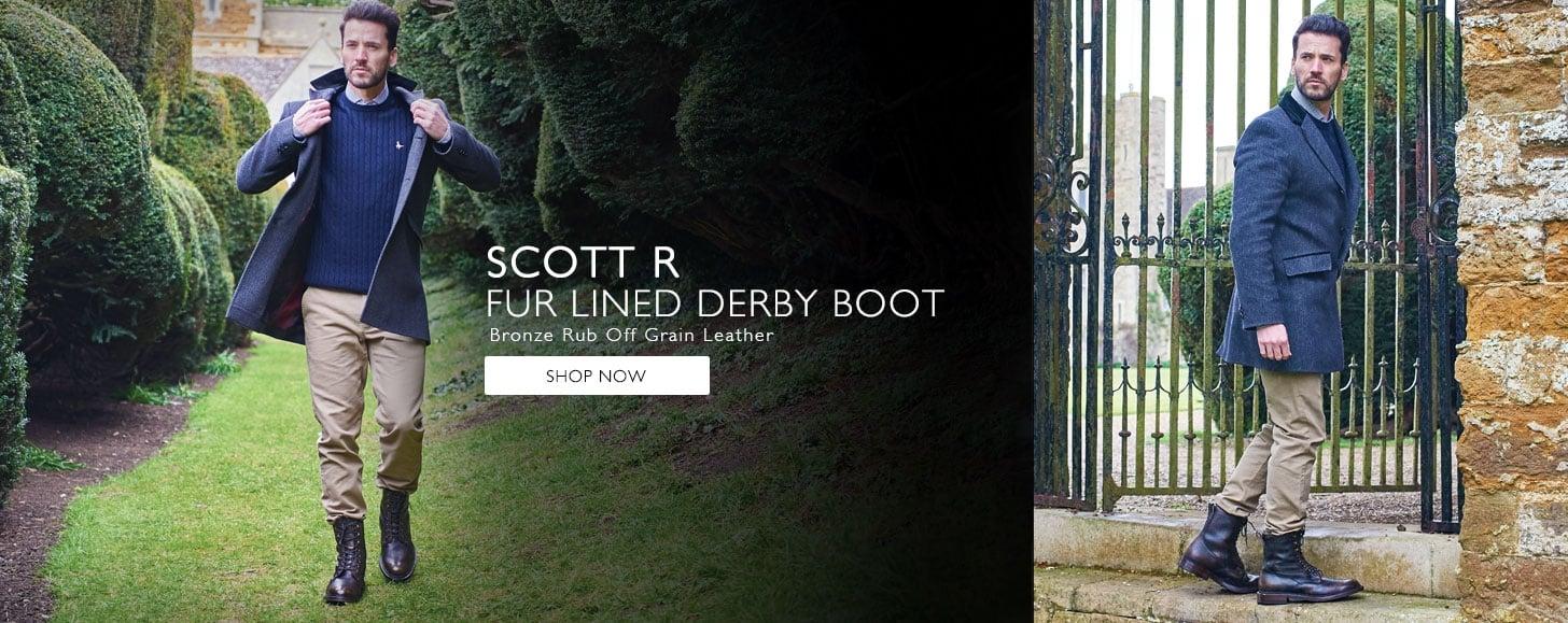 Scott Fur Line Boots   Shop Now