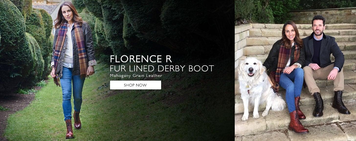 Florence Fur Line Boots   Shop Now