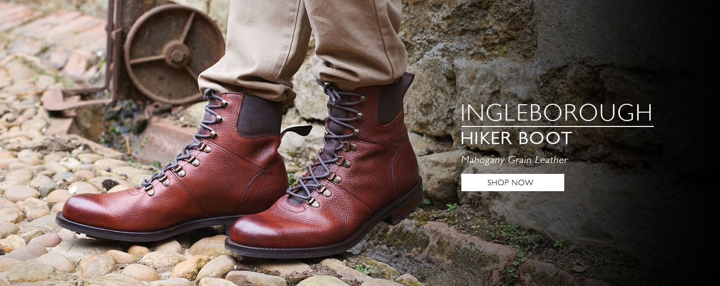 Ingleborough Mahogany Grain Leather