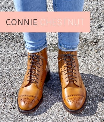 Connie in Chestnut Calf Leather | Shop Now