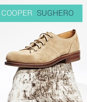 Cooper in Sughero Castoro Suede | Shop Now