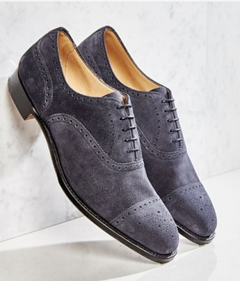 Islington Mens Capped Semi Brogue | Shop Now