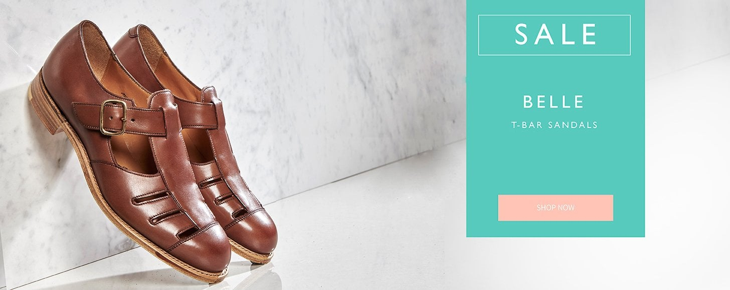 Belle T-Bar sandals | Added to Sale | Shop Now