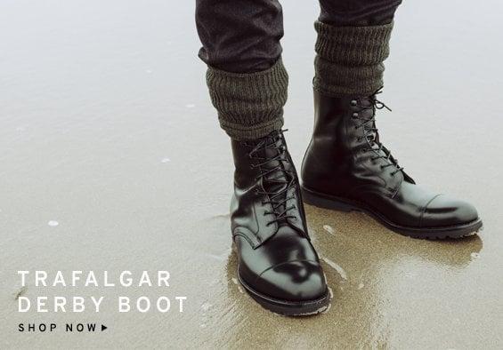 Trafalgar Mens Derby Boot | Shop Now
