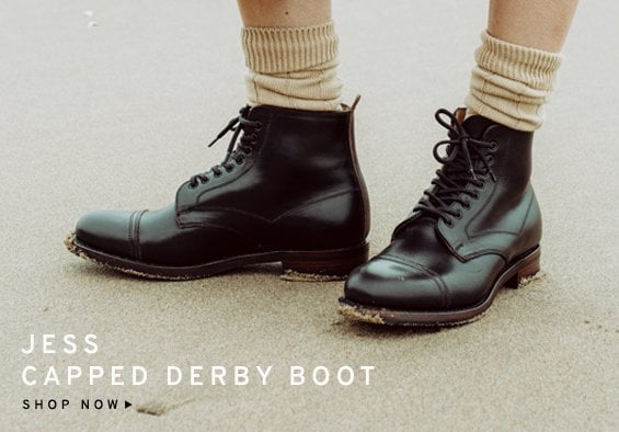Jess Capped Derby Boot | Shop Now