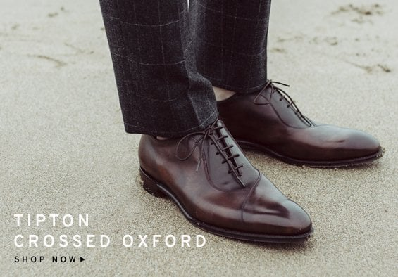 Tipton Crossed Oxford | Shop Now