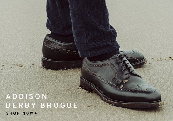 Addison Derby Brogue | Shop Now