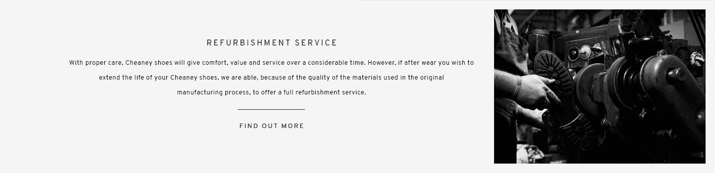 Refurbishment Service