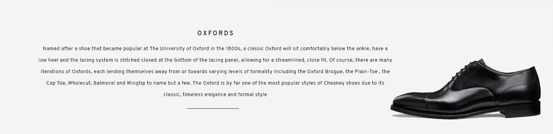 Redmond Black Oxford