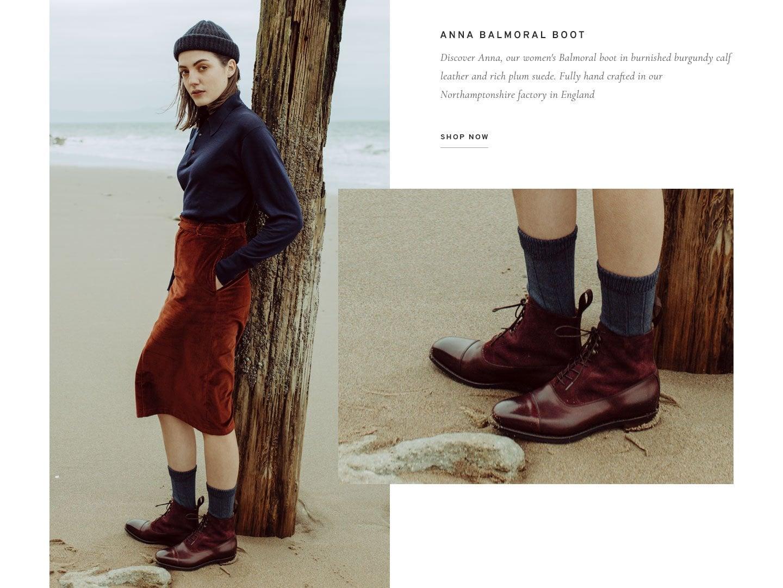 Anna Ladies Balmoral Boot