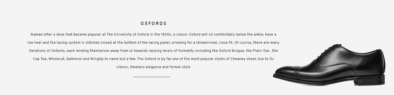 Overstone Black Oxford