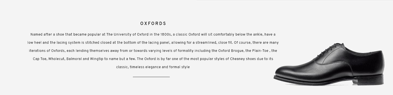 Welland Black Oxford