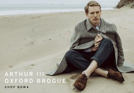 Arthur Plough Brogue