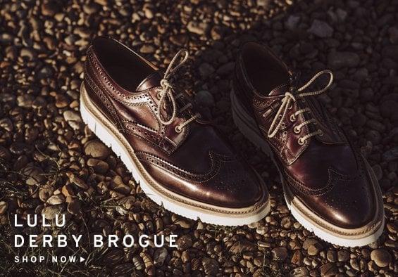 Lulu Derby Brogue | Shop Now