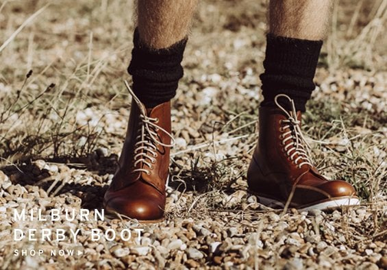 Millburn Derby Boots | Shop Now