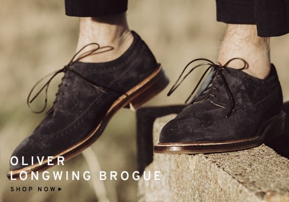 Oliver Longwing Brogue | Shop Now