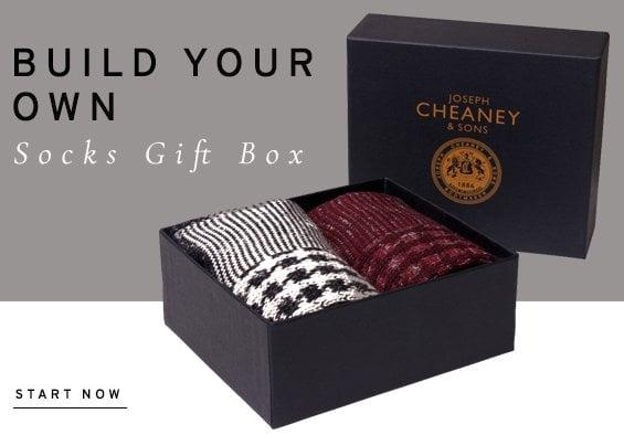 Build your own socks gift box | Start now